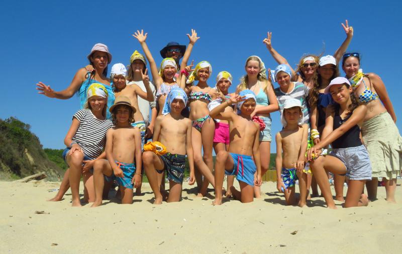 детски лагер на море